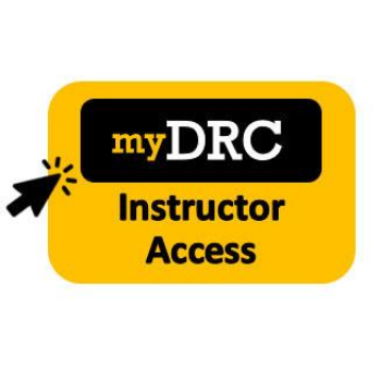 my DRC instructor access