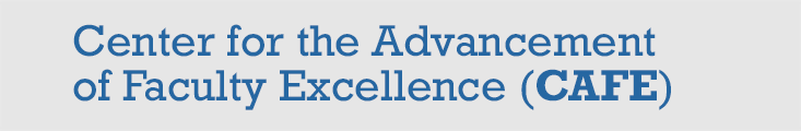 Center for the Advancement of Faculty Excellence (CAFE)