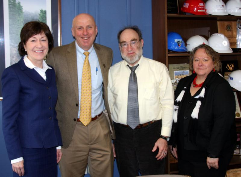 Sen Collins,Pat Connolly,Bill Sturrock,Deborah Halbach