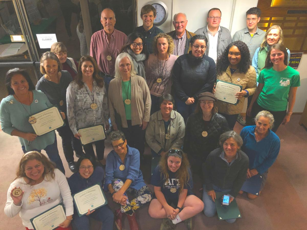 Community Forestry School Class of 2019
