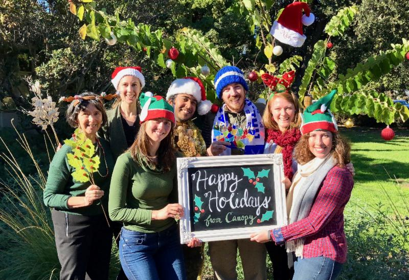 Happy holidays from the Canopy team
