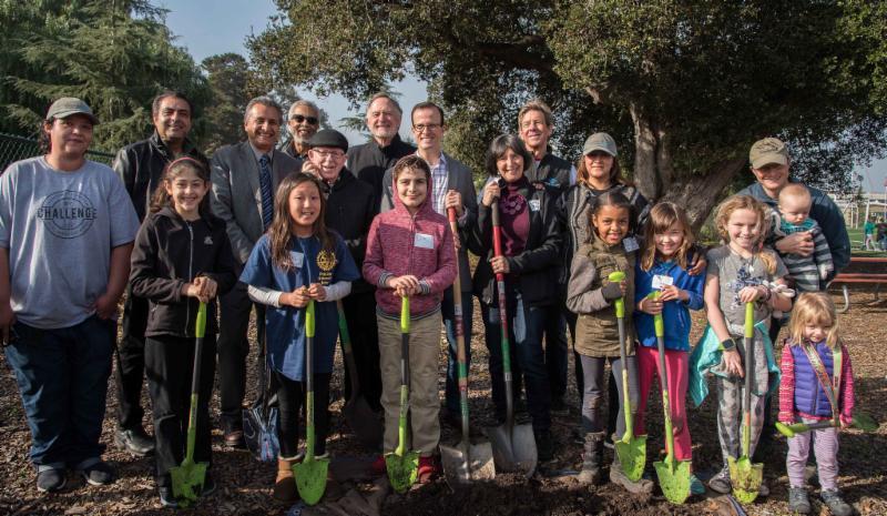 MLK Day tree planting 2018