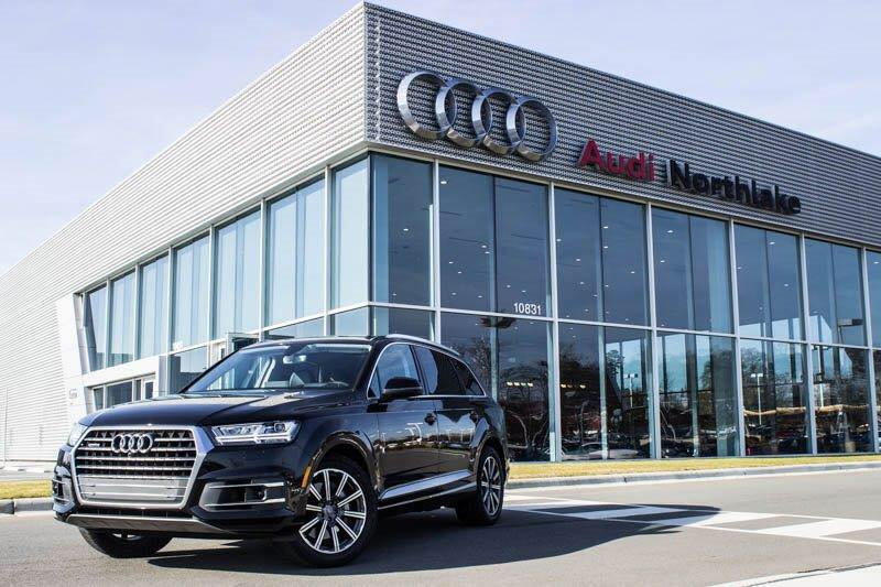 Audi Northlake Test Drive