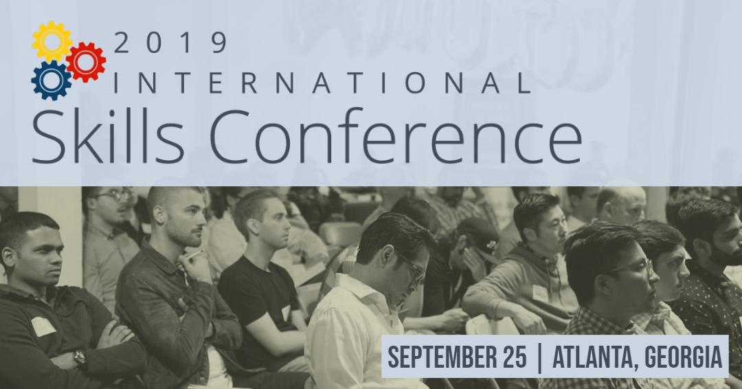 2019 International Skills Conference