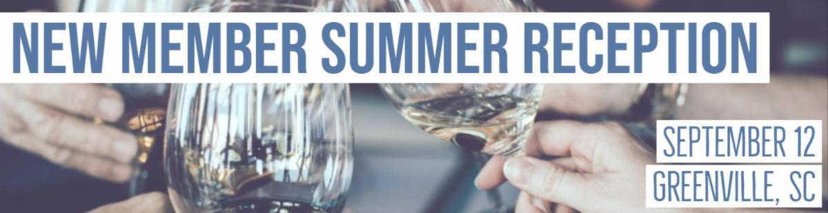 Summer Reception for New South Carolina Members