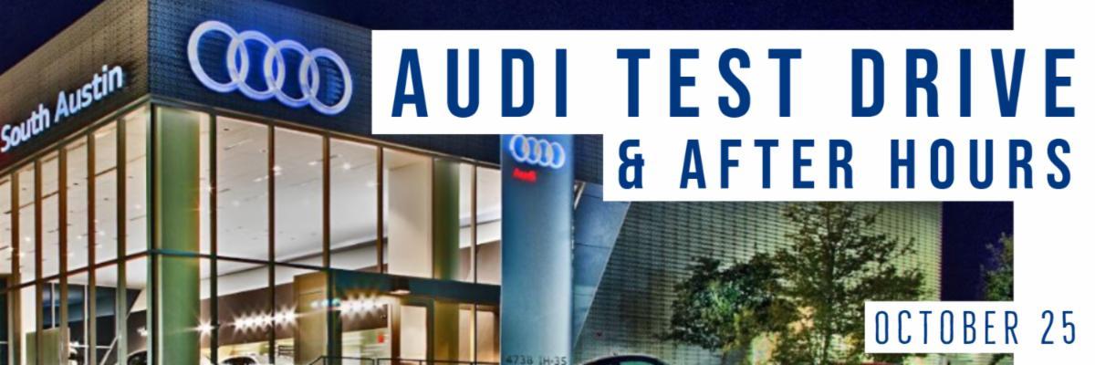 Audi Test Drive South Austin