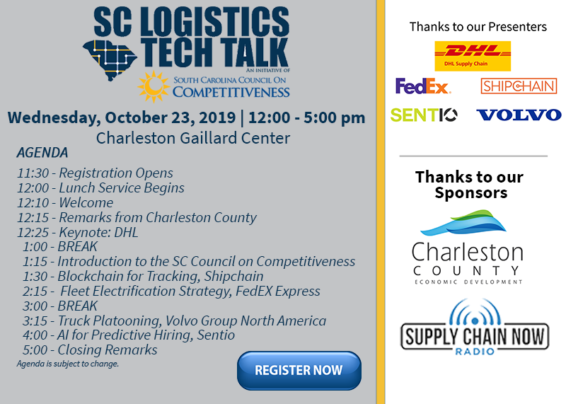 SC Logistics Tech Talk