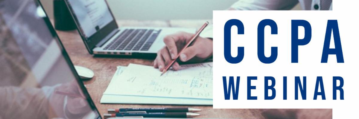 CCPA Webinar