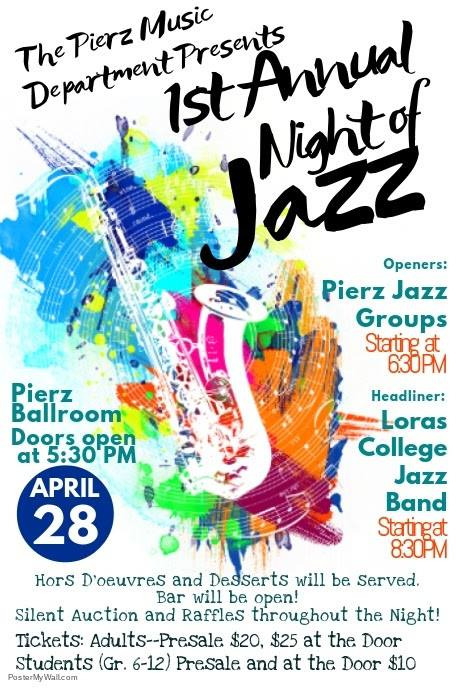 1st Annual Night of Jazz poster