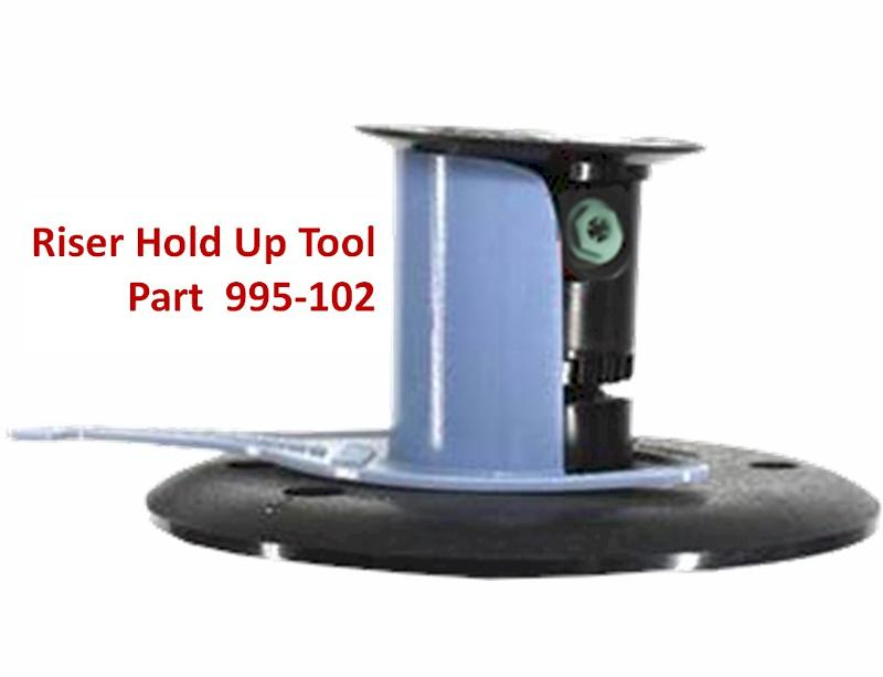 Riser Hold Up Tool