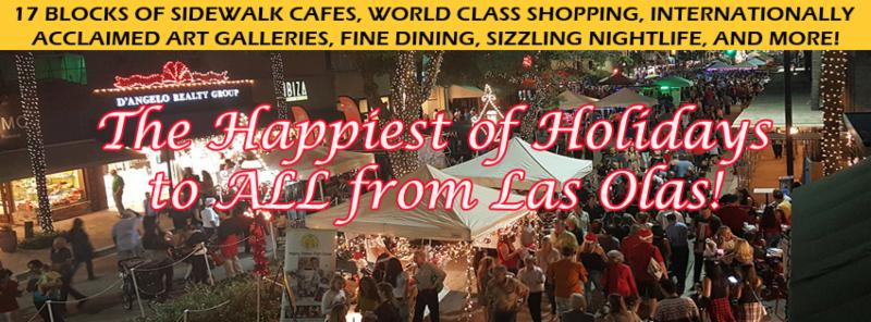 We Re Dreaming Of A Wine Christmas With Tickets To The Las Olas Food Festival