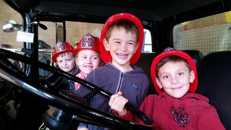 Fire Station Open House 2016 - kids
