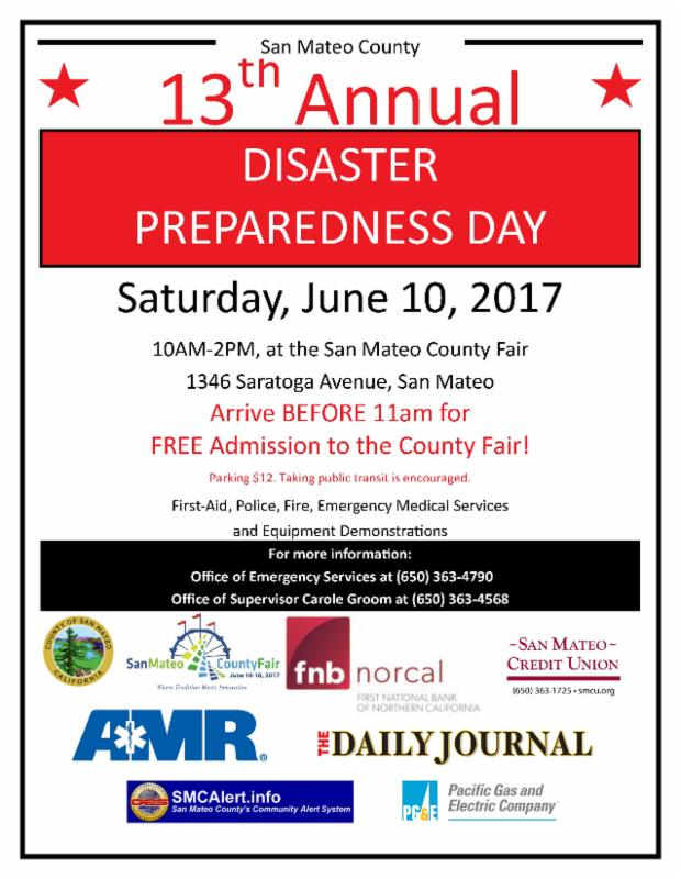 Disaster Preparedness Day 2017