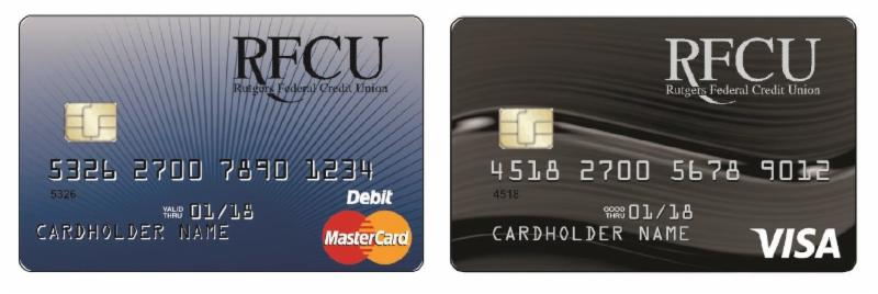 Rutgers Federal Credit Union >> Emv Debit Credit Cards