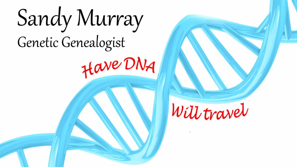 Sandy Murray, Genetic Genealogist