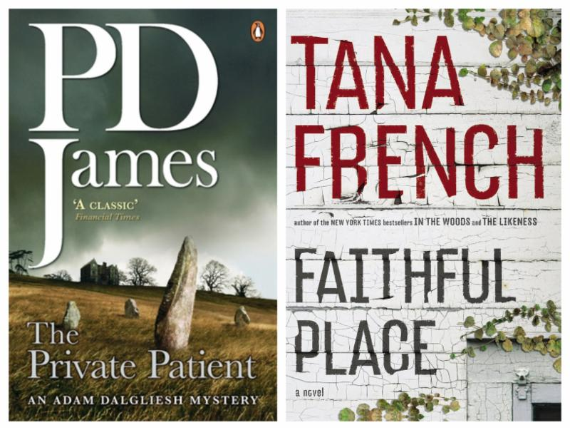 PD James and Tana French