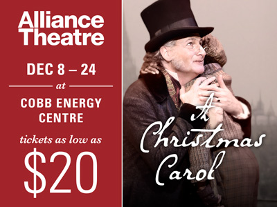join the alliance theatre for one of atlantas most treasured holiday traditions on christmas eve ebenezer scrooge is visited by ghosts offering him a