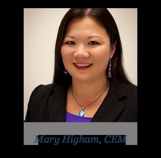 Mary Higham, CEM