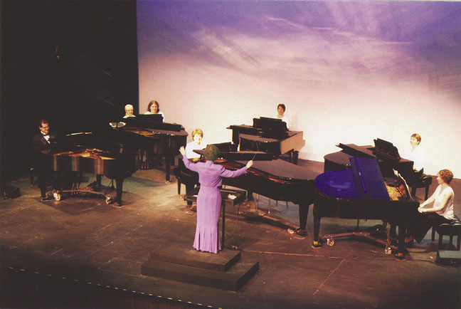 Oakton Six Piano Ensemble