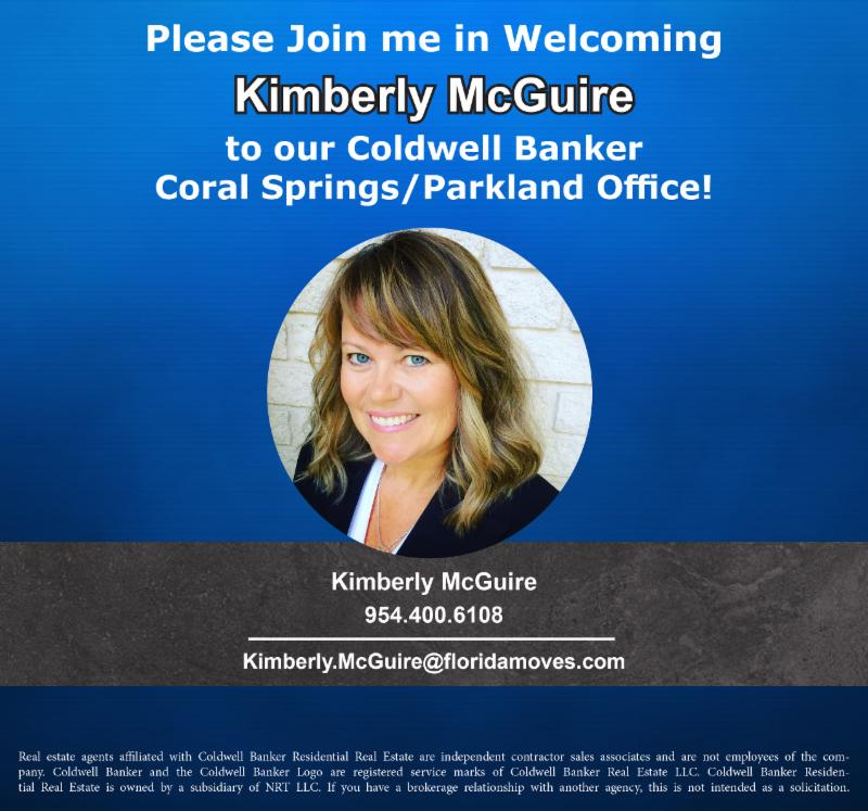 New Agent Announcement | Kimberly McGuire