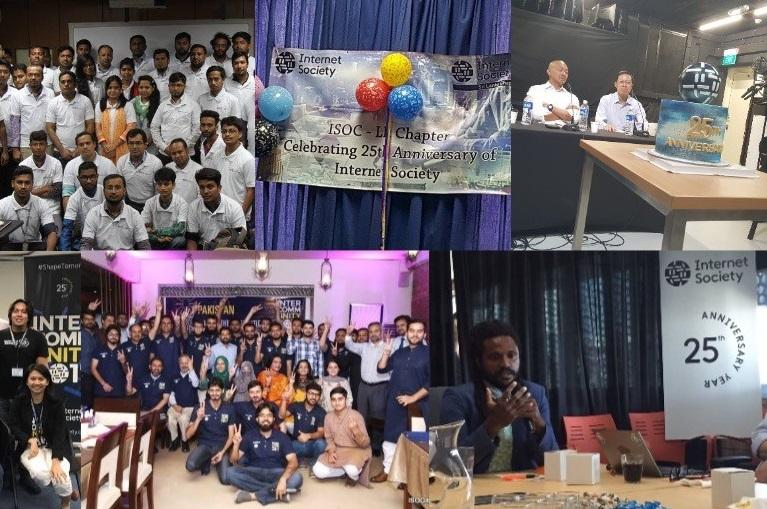 A collage of photos from InterCommunity 2017