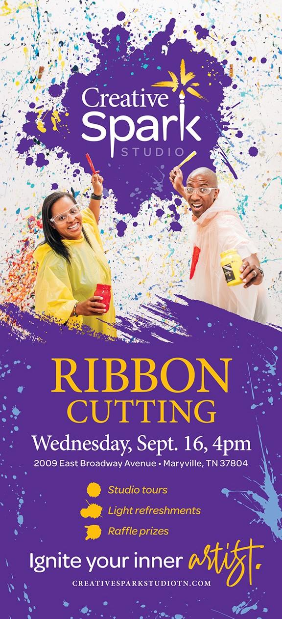 Creative Spark ribbon cutting September 16 at 4 p.m.