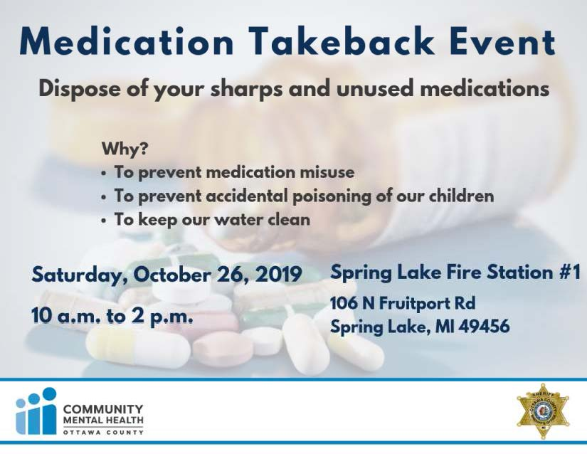 takeback event flier