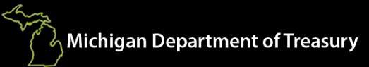 MI Department of Treasury logo