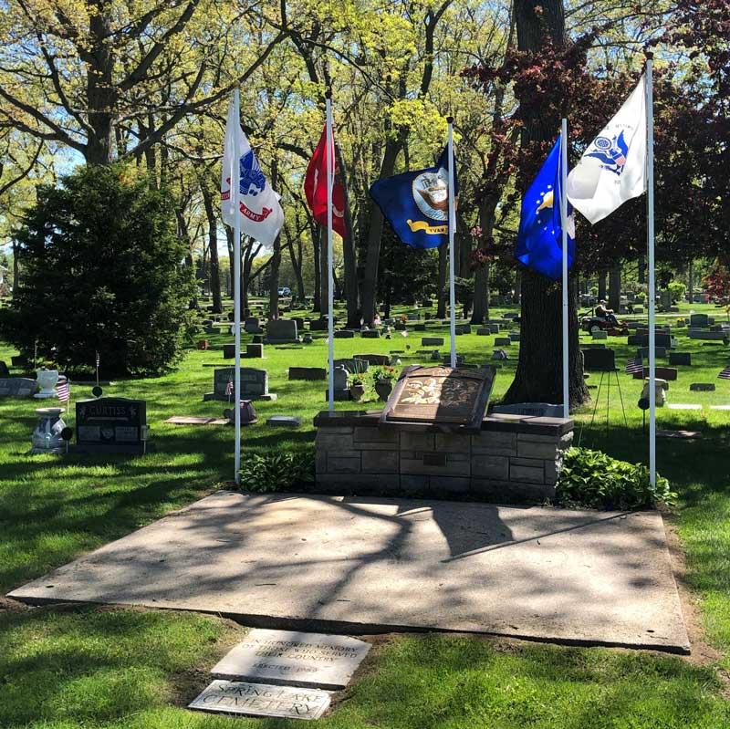 cemetery veterans memorial