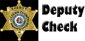 Deputy Check with logo