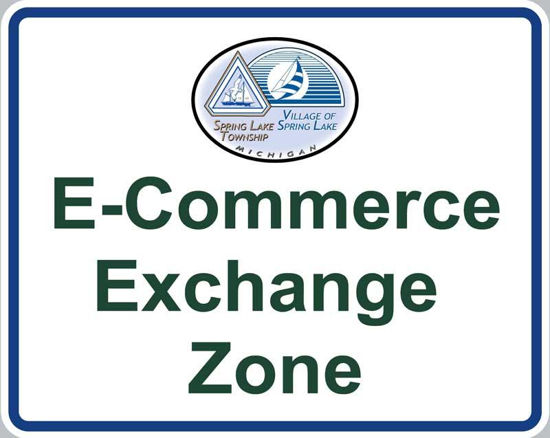 e-commerce exchange zone sign