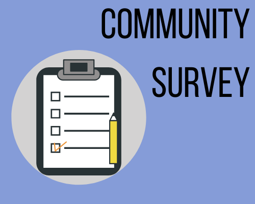 community survey graphic