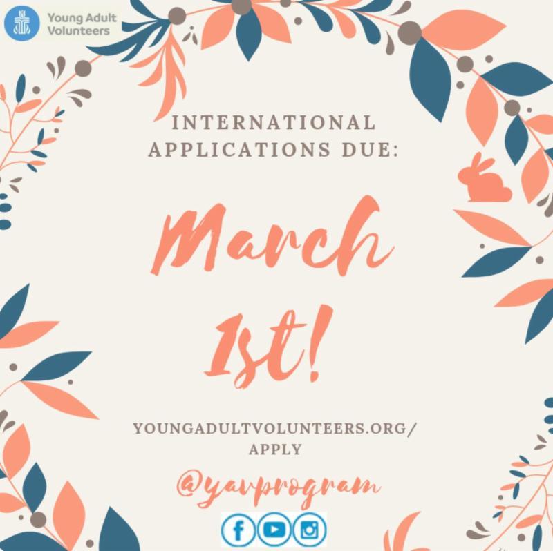 Yav March 1