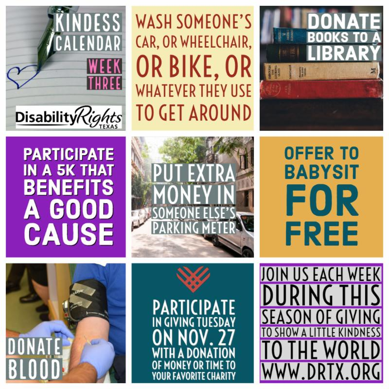 Wash someone's car, or wheelchair, or bike, or whatever they use to get around. Donate books to a library. Participate in a 5K that benefits a good cause. Put extra money is someone else's parking meter. Offer to babysit for free. Donate blood.