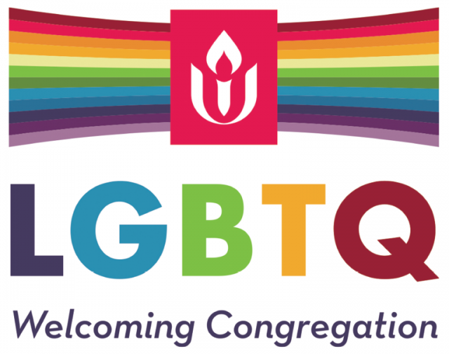 UUA LGBTQ Welcoming Congregation Logo
