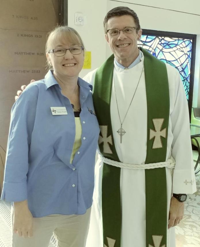 Raelyn Pracht & Rev. Mike Newman