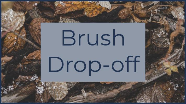 Brush Drop-off