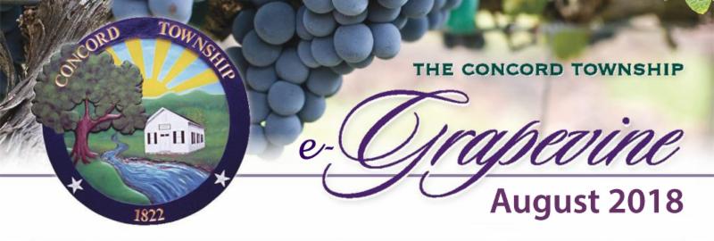 August 2018 Concord e-Grapevine