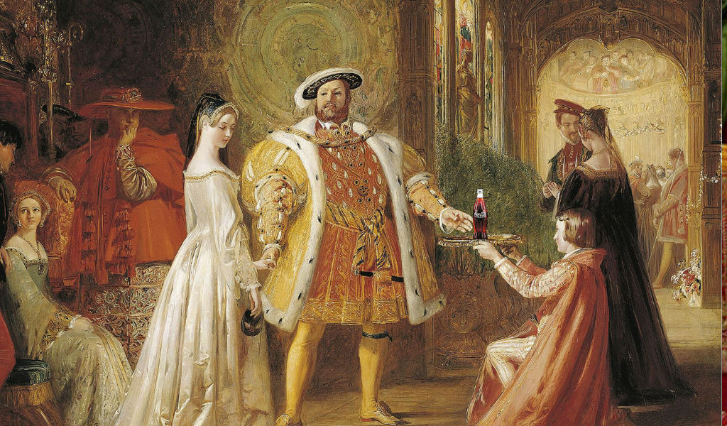 Henry the 8th and one of his wives
