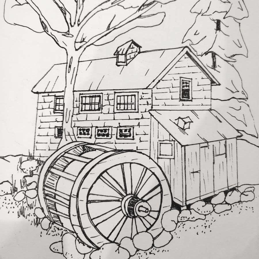 Concord Coloring Book Page