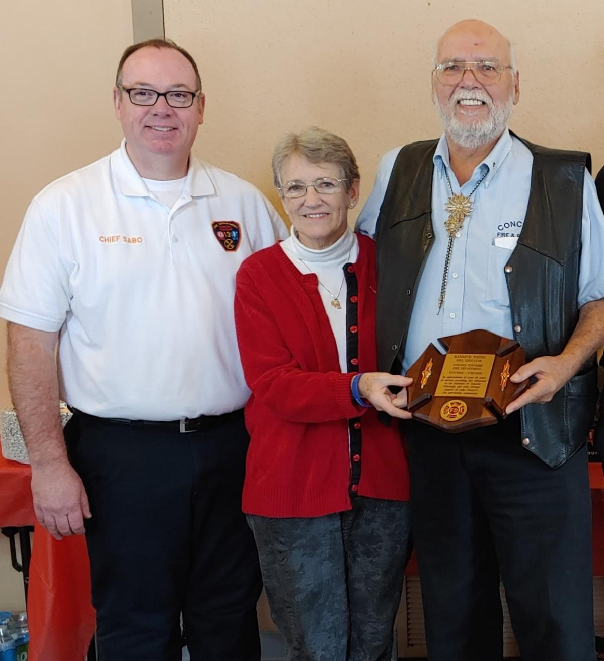 Weidig Retirement Recognition