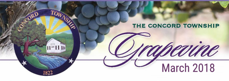 March Concord e-Grapevine Newsletter