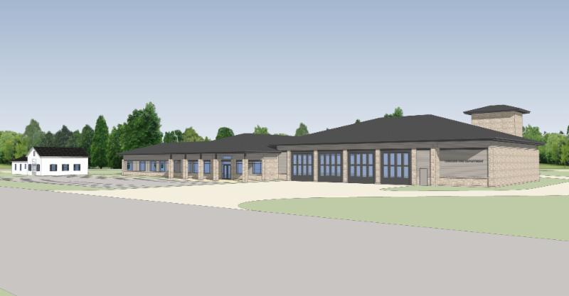 Fire Station 1 Rendering