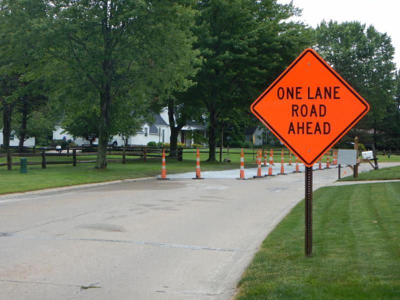 Brightwood Drive Construction