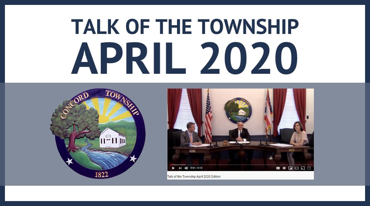 April Talk of the Township