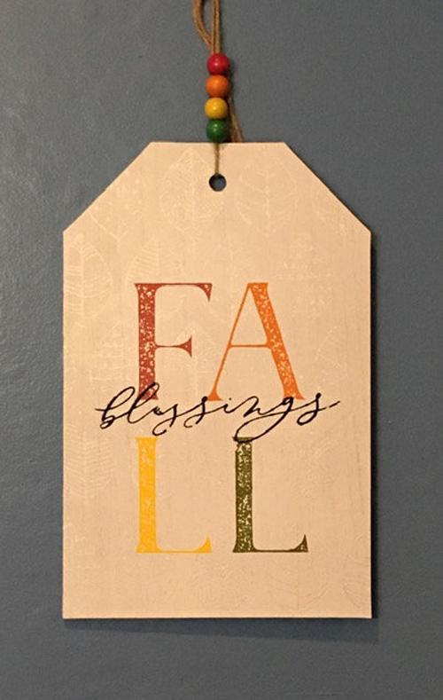 Fall Door Tags