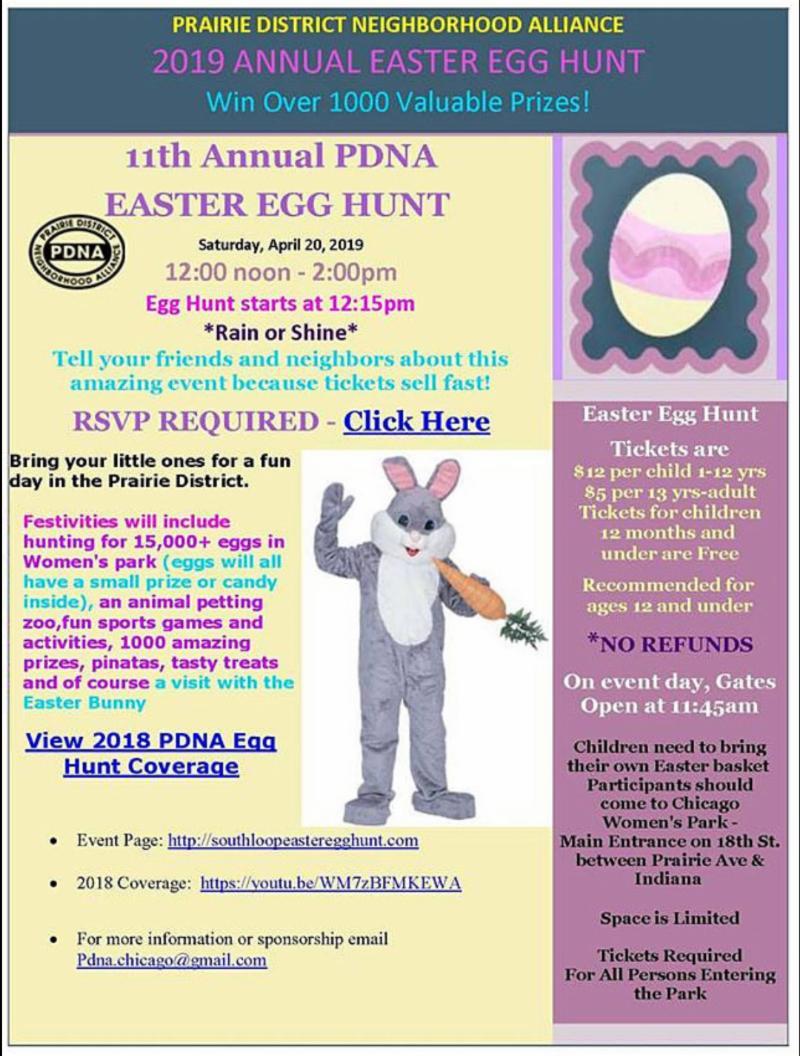 PDNA Easter Egg Hunt 2019