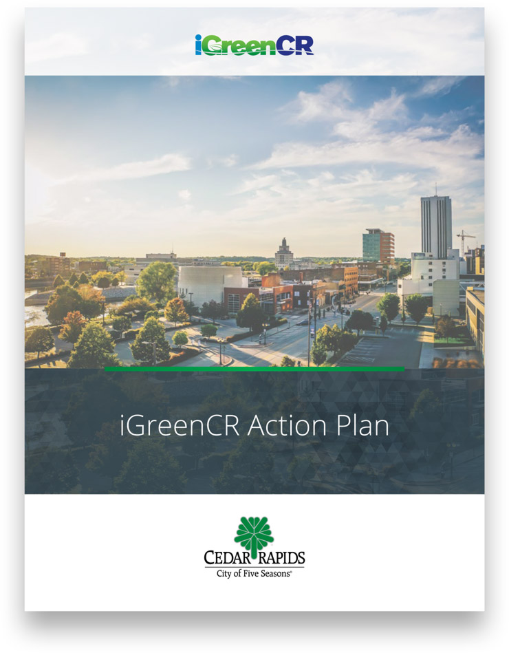 iGreenCR Action Plan report cover