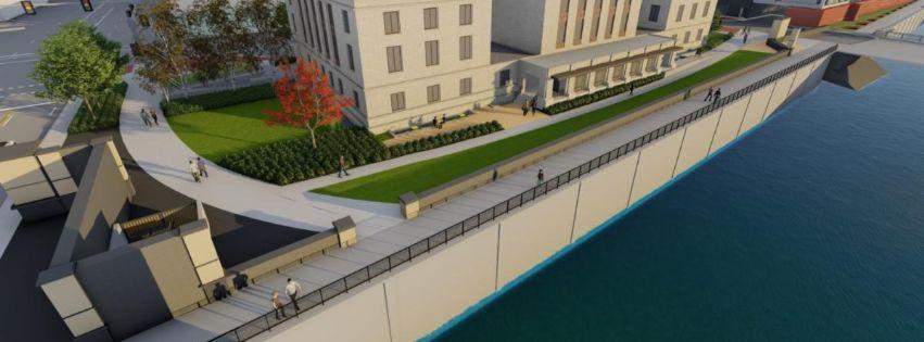 City Hall flood control
