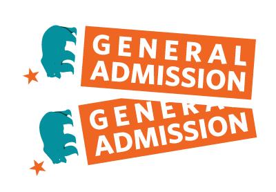 General admission graphic